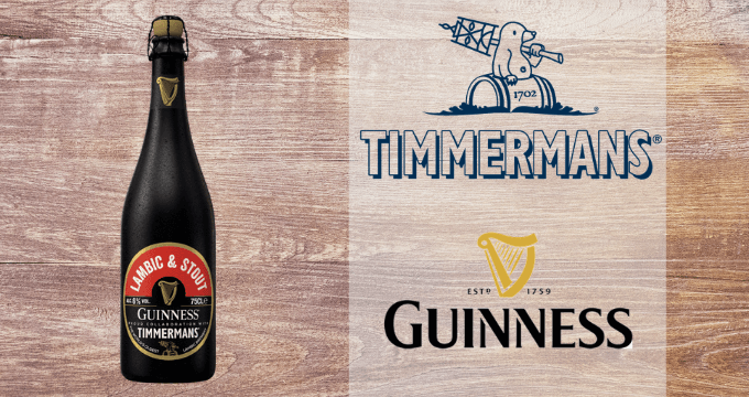 Lambic and Stout - Guinness - Timmermans