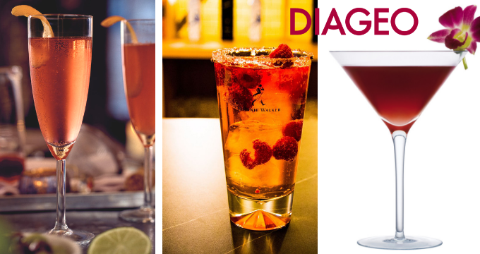 Diageo cocktail