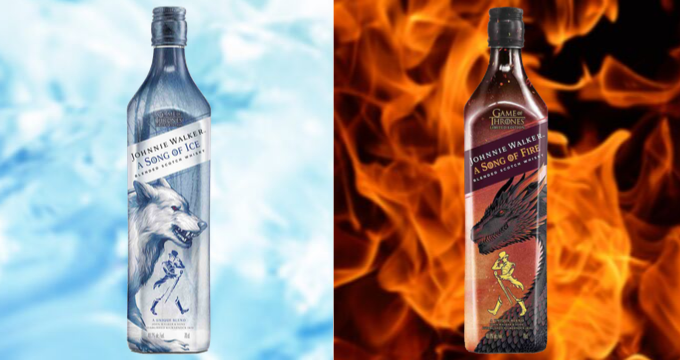 Johnnie Walker A song of Ice - A song of Fire - GoT Trono di Spade
