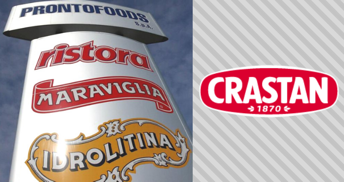 Prontofoods e Crastan