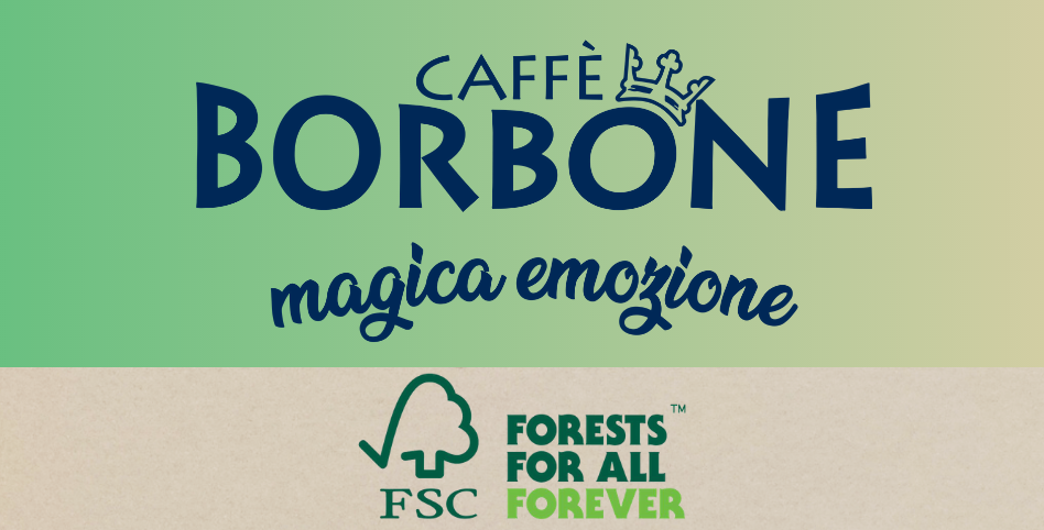 caffè borbone, packaging