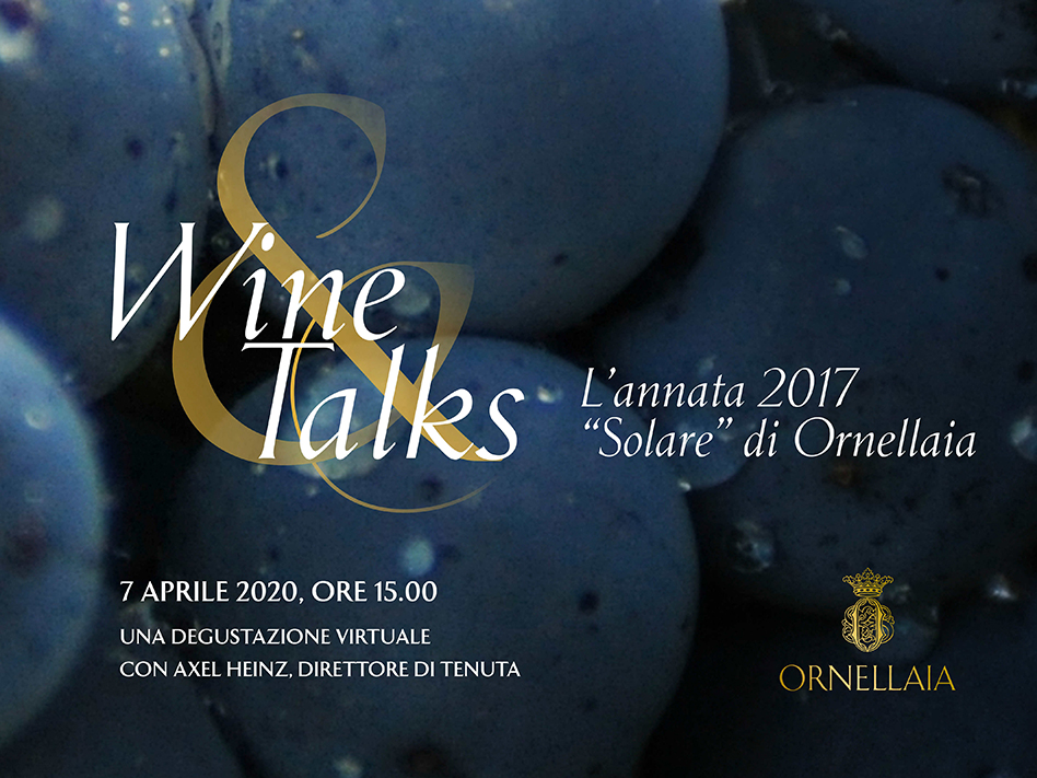 ornellaia, ornellaia wine&talks