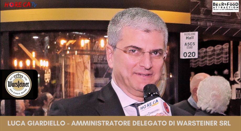 HorecaTv.it. Intervista a Beer&Food Attraction 2020 con Luca Giardiello di Warsteiner Srl
