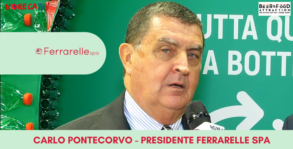 HorecaTv.it. Intervista a Beer&Food Attraction 2020 con Carlo Pontecorvo di Ferrarelle SpA