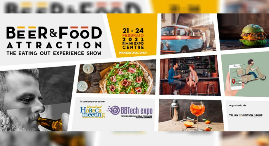 Beer&Food Attraction 2021: Italian Exhibition Group annuncia le date