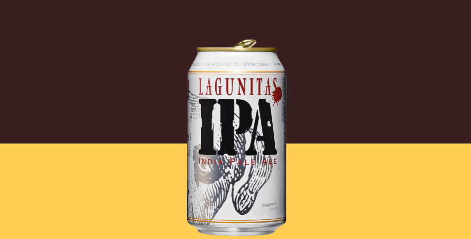 Dibevit porta in Italia Lagunitas IPA in lattina