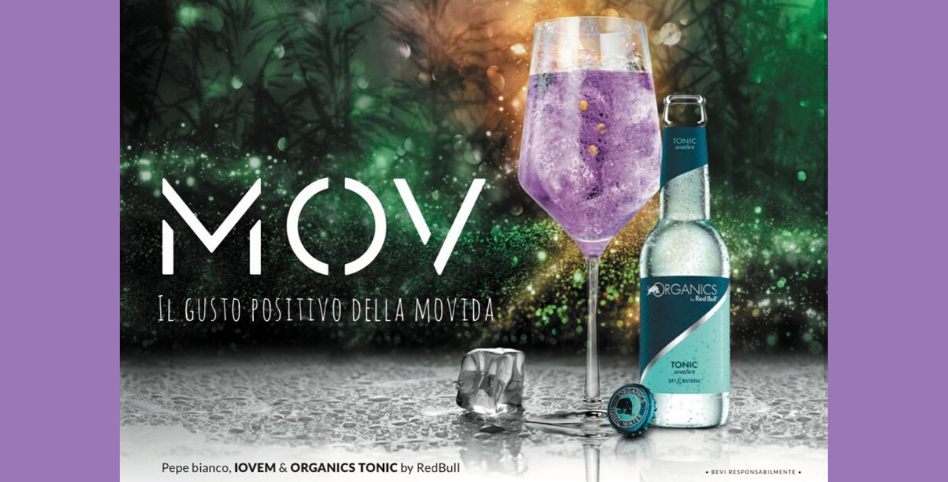 IOVEM e Red Bull lanciano il cocktail dell'estate 2020: MOV